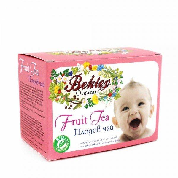 Bekley Organics  Бебешки плодов чай от Ройбос и Манго при колики без кофеин  от 5м. 20 пак